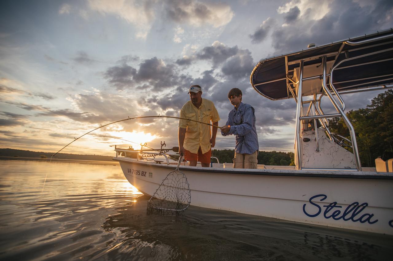fishing Kerr Lake va